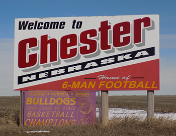 Chester Sign